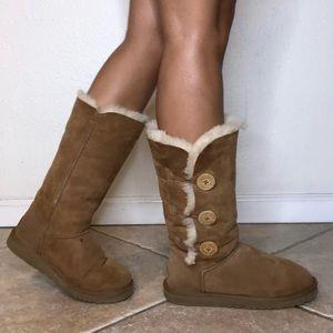 Authentic UGG Boots with Buttons
